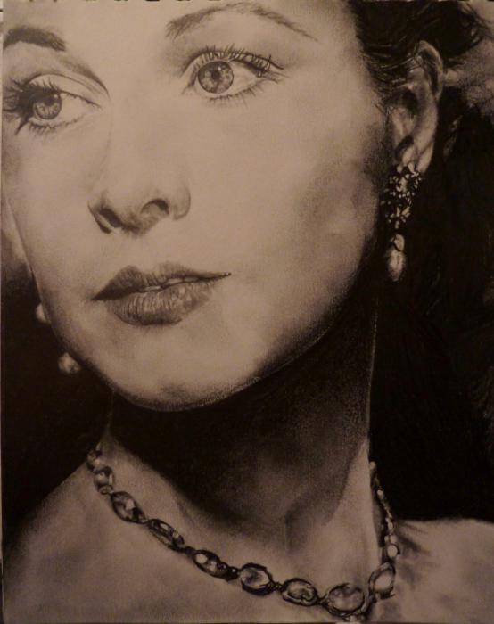 Vivien Leigh by cyrilsnow